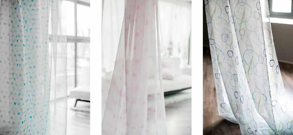 Notre collection de voilages pour vos rideaux